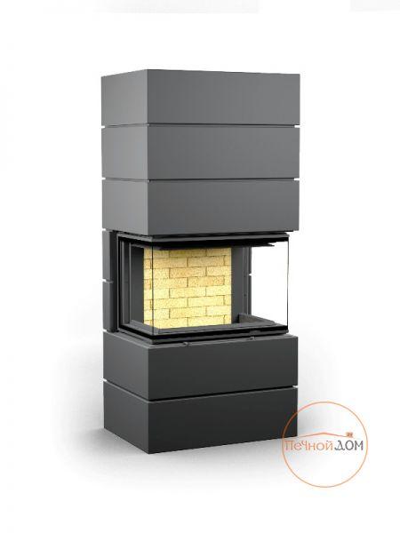 фото Печь-камин Astov Ферро П3С 5357 черный