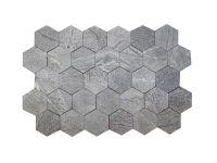 фото Плитка талькомагнезит шлифованный Соты 145/145