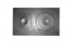 Варочная чугунная плита с двумя конфорками П2-5 760x435 мм