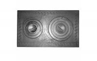 фото Варочная чугунная плита с двумя конфорками П2-5 760x435 мм
