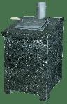 Облицовка для банной печи Президент 1  Серпентинит ПБ-04 ЗК
