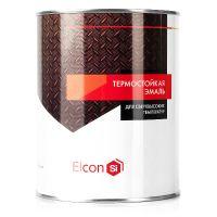 фото Термостойкая эмаль Elcon коричневая