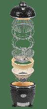 Керамический гриль-барбекю Monolith Classic Pro-Serie 1.0 schwarz без столиков и ножек