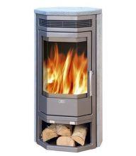 фото Камин-печь Baltik 4 талькохлорит с верхней плитой