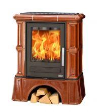 фото Керамическая печь с кафельным цоколем ABX BAVARIA K