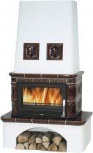 фото Керамический камин Laponie TV 10,5 kW