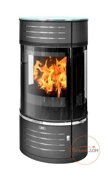 Стальная печь-камин Atrium 5 ABX цилиндрической формы