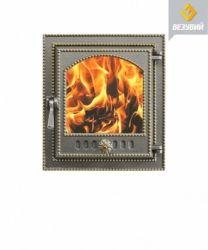 Дверца топочная 210 бронза (325*290)