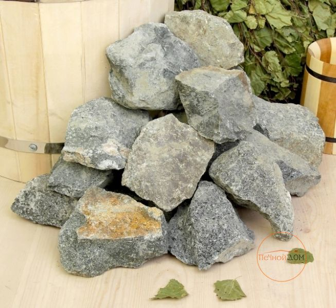 фото Камни для бани Габбро-диабаз 20 кг