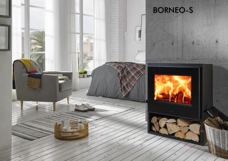 фото Дровяная стальная печь Panadero Borneo-S