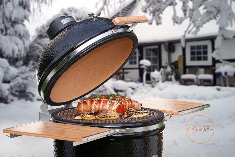 фото Гриль-барбекю Monolith grill Classic Basic schwarz