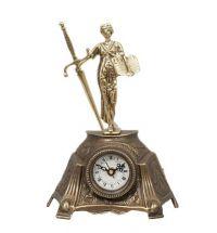 фото Каминные часы бронза 5781CB