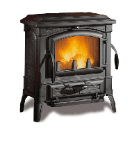 фото Чугунная печь-камин Isetta Evo La Nordica