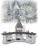 Угловой садовый гриль-барбекю Avanta Exclusive
