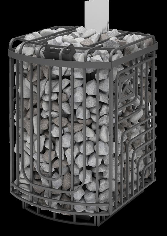 "фото Печь каменка для бани ""Сибирский Утёс"" 20ЛП профи"