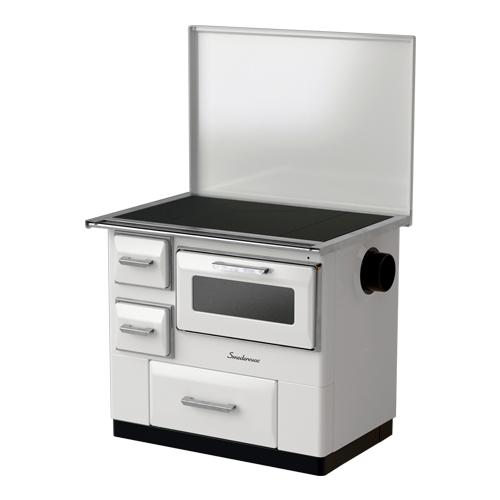 "фото Кухонная плита ""MBS 7"" ( white/brown/cream)"
