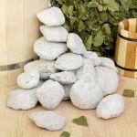 Камни для бани Талькохлорит галтованный 20 кг