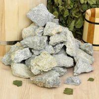 Камни для бани Талькохлорит колотый 20 кг