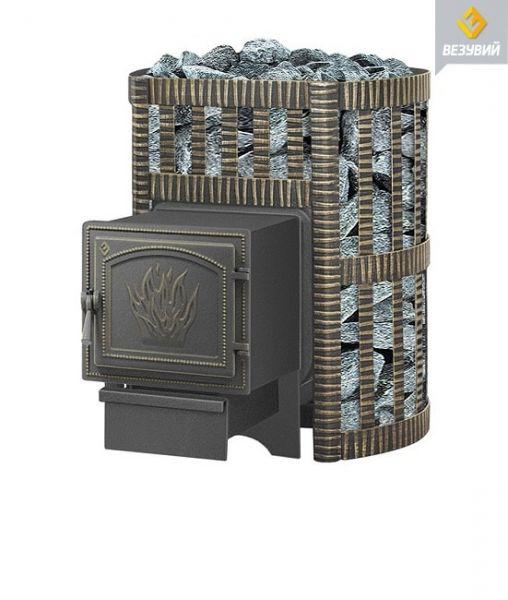 Чугунная печь для бани Легенда Ковка 12 (261) Везувий
