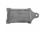 Задвижка для печи ЗВ-3 240x130 мм