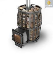 Чугунная печь Сандуны Ковка 18 (270) Везувий