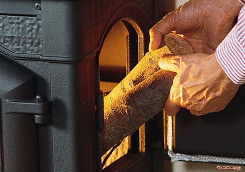 фото Печь-камин Isotta con cerchi La Nordica с плитой