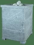Облицовка для чугунной банной печи Оптима 1 Талькохлорит ПБ-01 ЗК