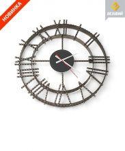 фото Каминные часы кованные 1 ч/b/s Везувий