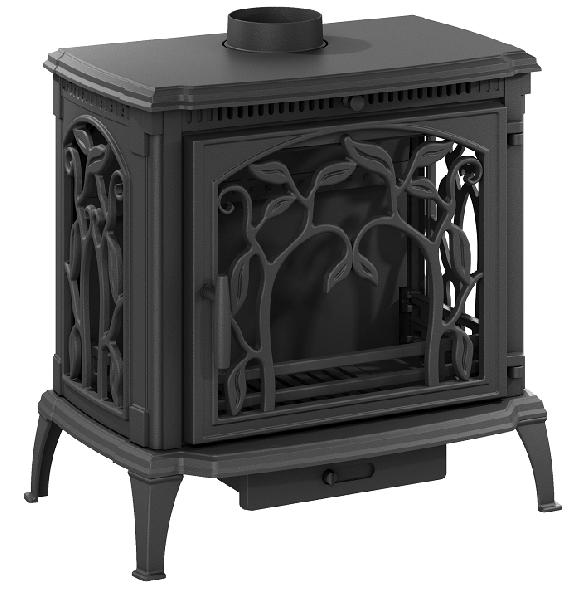 фото Чугунная печь-камин ARICA Nordflam
