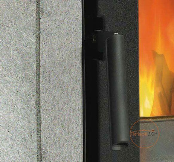 фото Печь-камин в облицовке талькохлорит Ester La Nordica