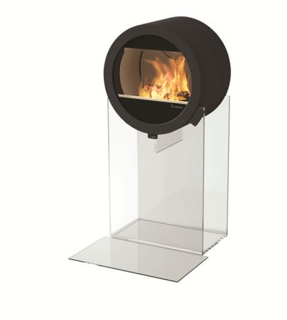 фото Дизайнерский камин Nordpeis Me Glass