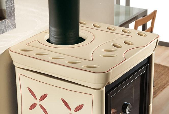 фото Печь с духовкой Nicoletta Vogue Silk Forno La Nordica