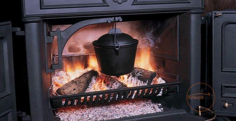 фото Чугунная печь-камин Franklin 82