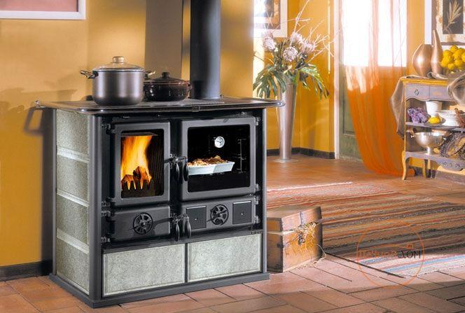 фото Кухонная дровяная плита Rosa La Nordica