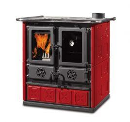 фото Кухонная дровяная плита Rosetta Maiolica La Nordica