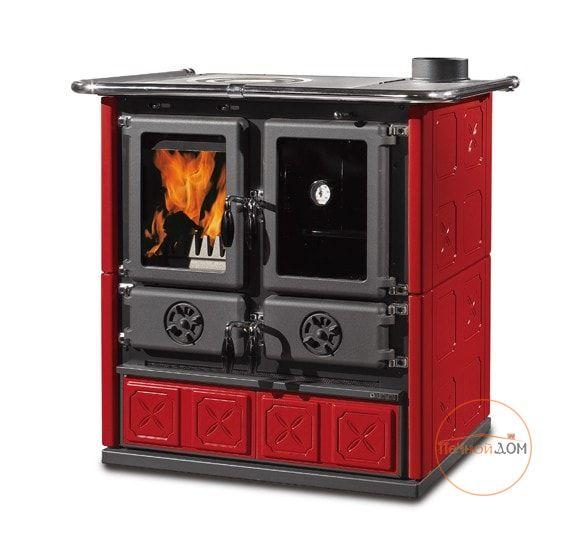 Кухонная дровяная плита Rosetta Maiolica La Nordica