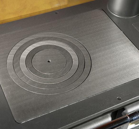 фото Дровяная варочная печь Rosetta Sinistra La Nordica