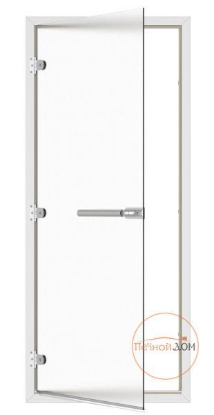 фото SAWO Дверь для бани и сауны 8/19, коробка алюминий