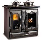 Кухонная дровяная плита с теплообменником Termosuprema compact NE DSA La Nordica