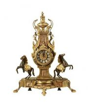 фото Бронзовые каминные часы 5602A
