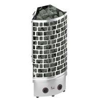 фото Угловая электрическая печь для сауны SAWO ARIES ARI3-75NB-CNR-P