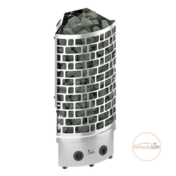 Угловая электрическая печь SAWO ARIES ARI3-90NB-CNR-P