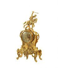 фото Бронзовые каминные часы 5060B
