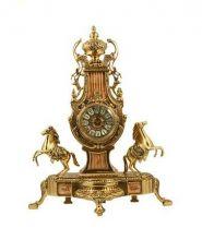фото Бронзовые каминные часы 5373B