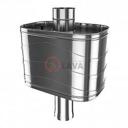 Бак на трубу самоварного типа Lava 25 л