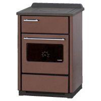фото Отопительно-варочная печь с духовкой Plamen  CALOREX 60 N, коричневая
