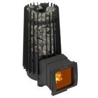 фото Банная печь с закрытой каменкой Cometa 180 Vega Long Window Max