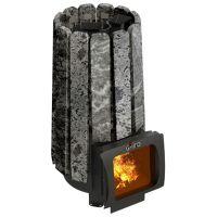 фото Печь для бани с закрытой каменкой Cometa 180 Vega Short Window Max Stone
