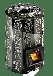 Банная печь с закрытой каменкой Violet Short Grill D
