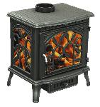 Печь Demetra три стекла, чугун Fireway